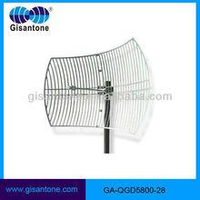 5.8GHz WIFI 29dBi Parabolic outdoor high gain wifi antenna 5ghz