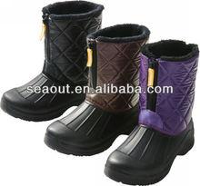 newest warm women snow boot fashion snow boot