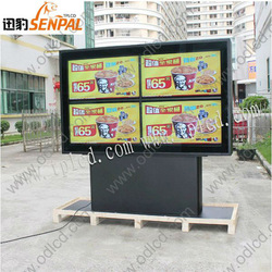 47 inch super narrow bezel lcd video wall outdoor advertising lcd display for Bar/ KFC