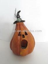 resin pumpkin for halloween decoration