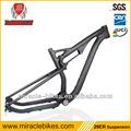 29er full frame in carbonio della sospensione, completa sospensione mtb telaio in fibra di carbonio, telaio mtb full suspension