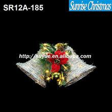 Christmas Bell/ Led decoration light manufacturers/ led decoration light(MOQ:200PC)