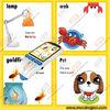 Newly design kids educational video reading pen, rechargable battery