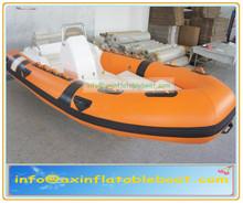 rib boat,rigid hull inflatable boat,fiberglass inflatable boat YARB - 8