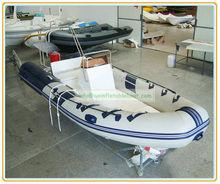 rib boat,rigid hull inflatable boat,fiberglass inflatable boat YARB - 10