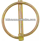 retainers & clips, brass safety linch/lynch pins with O-ring