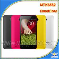 Telefono Celular Android MTK6582/Cheap 3G Quad Core Telefon/Dual Sims Shenzhen Smartphone W450 4.5