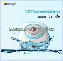 IPX5-IPX7 Waterproof Standard Waterproof Bluetooth Stereo Shower Speaker with CE ROHS compliant