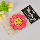 Refined Sunflower Oil Coffee Scented Paper Air Freshener For Car China Supplier