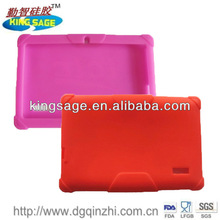 Soft protective silicone 7 inch silicone case for tablet