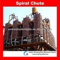 Espiral concentrador para cromita mineral