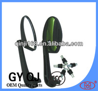 8mm 10mm green color plastic lever motorcycle mirrors QJ-2669-2
