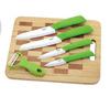 ceramic knives cutting board
