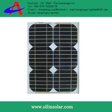 High efficiency 10w cheap solar panel mono