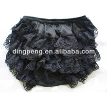 infant and toddlers black lace bloomer baby bloomers