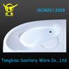 Plastic bathtub for adults,fashion design cheap corner bathtub,Acrylic transparent bathtub for bathroom