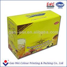 Tea paper box