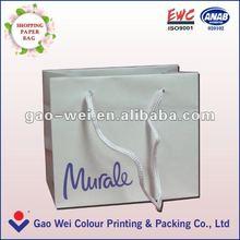 2015 Good Quality Fashion Style Custom Paper Shopping Bag
