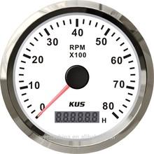 Genset tachometer, electronic tachometer gauge for diesel 8000rpm