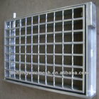 30*4 STEEL BAR GRATING TRENCH COVER WITH FRAME