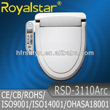 Intelligent Shattaf Smart Washlet Electronic Bidet Royalstar Plastic Toilet Toilet Seat Cover