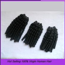 Spring Curl Brazilian Remy Human Hair Extenions