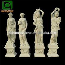 Marble Garden Four Seasons God Statues