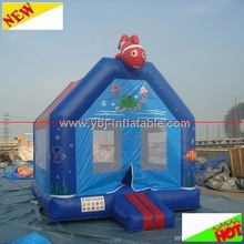 2014 cooling sea world inflatable bouncer/ inflatable jumping bouncer