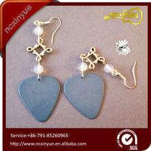 Custom Christmas gift earring gold jhumka earrings for woman