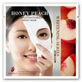 pêche au miel soins de la peau blanchissant le masque facial feuille mieux que la crème