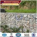 jaulas de alambre de roca de retención de la pared