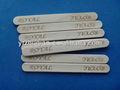 grado superior logo impreso natural de madera de abedul de crema de hielo palos