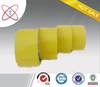 with good tensile strength yellowish bopp adhesive tape