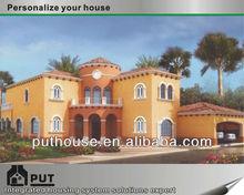 light steel fabricated villas houses