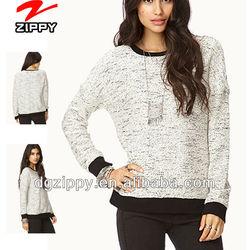 No-Fuss Marled Sweatshirt online shopping for clothing