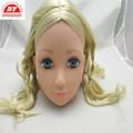 2013 personalizado boneca de plástico cabeça