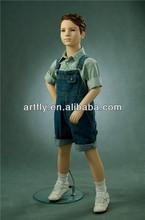 dress up realistic boy display manikin with hair on sale