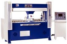 hydraulic traveling & rotary head PLC control pvc cutting machine