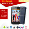 New arrival phone POMP W89 Quad Core 1GB RAM wcdma gsm dual sim android 4.2