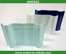 Translucide transparente tôle de toiture