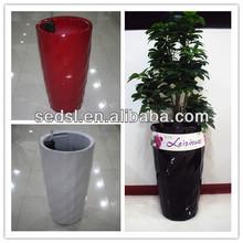 diamond similar planter,large flowerpot,round decorative pots