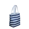 large foldable reusable shopping bag with zipper