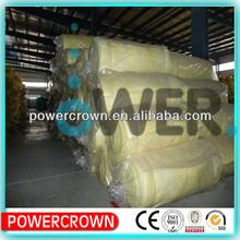 Fiber glass wool insulation construction material/waterproof fiberglass wool insulation blanket construction material