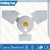 12v 18w dc ceiling fan metal cover with OEM design remote control DC-12V48D3