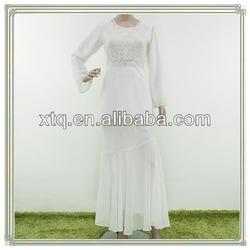 Elegant beading chiffon baju kebaya modern baju kurung 2013