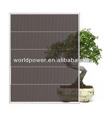 Color Thin Film Solar Panel/A-Si Thin Film Double Glass Solar Module