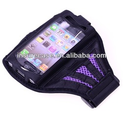 Ventilated Sports smartphone armband case for iPhone 5