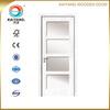 Turkey interior pvc mdf glass wooden design one panel door