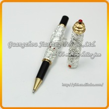JHR-X001 Newest led lights luxury gift pen set