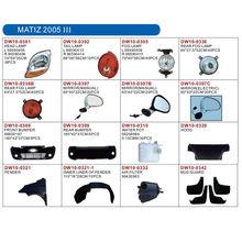 DAEWOO MATIZ 2005 III auto lamp and body parts
